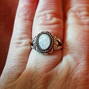 Jewelry - GORGEOUS FIRE OPAL & SILVER RING